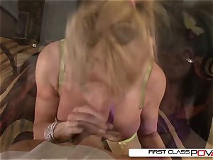 Taylor Wane takes a immense prick in every posture