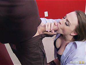 Married dame Chanel Preston gets titfucked and her vulva fucking by thief