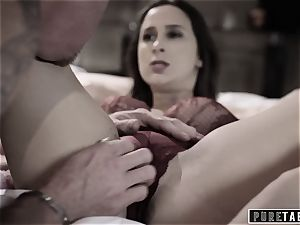 pure TABOO 18yo Ashley Sins Against mommy to satiate father