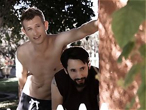 youthful all-natural and Wicked Sn two August Ames Outdoor drill