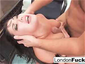 London Gets bent Over and Office pummeled
