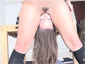 horny ladies gobbling some ass