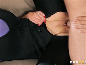 Nikki Benz and Bridgette B get filthy with the security fellow