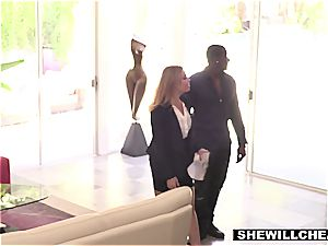 wife Britney Amber drills legendary football players big black cock