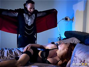 Veronica Vain is banged by a marvelous vampire fuck-stick