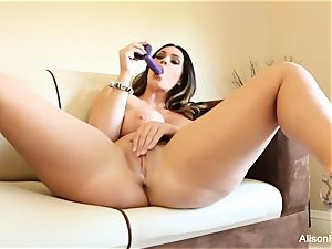 Alison Tyler plays with her coochie