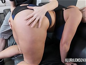 huge-titted milf Alura Jenson has her immense rump adored