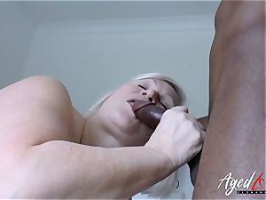 AgedLovE Lacey Starr interracial hard-core hump