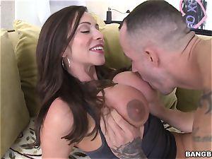 manstick greedy mummy Ariella Ferrera pummeled in her ass-hole