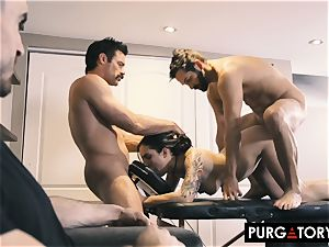PURGATORY I let my wifey bang two dudes in front of me