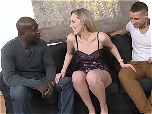 cuckold teaching bi-racial ass fucking fuckfest For slutty wife