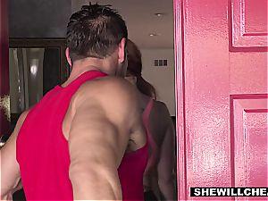 SheWillCheat - warm curvy wifey fuckin' individual Trainer