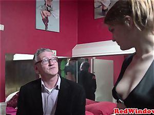 Pussyeaten amsterdam hooker likes tourist
