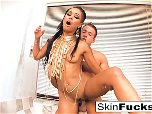 princess of the Damned drains his fuckpole