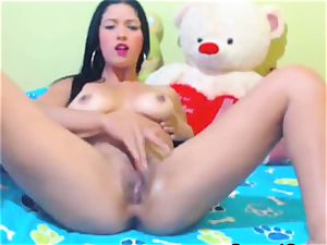 scorching cam honey fellate and screw her backside