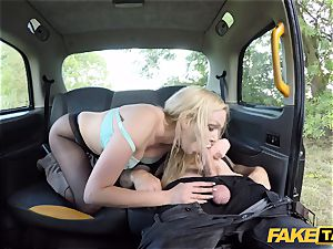faux cab brit blonde bombshell Amber Jayne