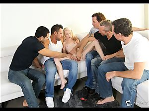 Maddy Rose suffers her first-ever group sex