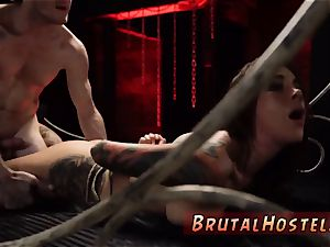 marionette restrain bondage and dom very first time sexually aroused young tourists Felicity Feline and Jade