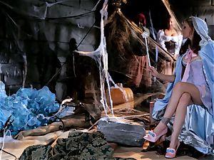pixie godmother Julia Ann grants a schlongs wish