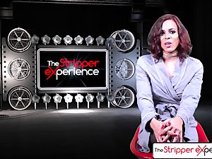 The Stripper experience - Luna starlet her humid taut cootchie