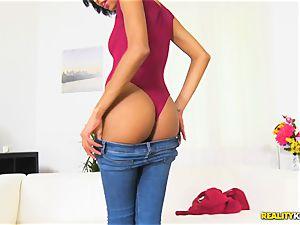 stunning mexican hottie Luna Corazon drilled deep