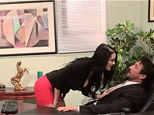 assistant Katrina Jade plows her super-fucking-hot chief at work