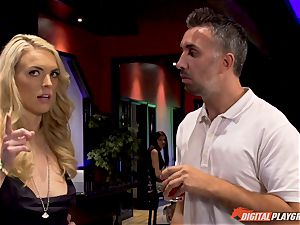 lesbians Kleio Valentien and her girlfriend Keira Nicole tricked into inhaling rod