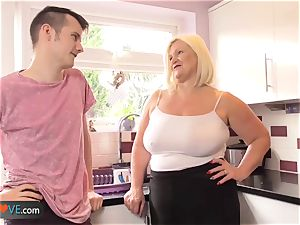Agedlove mature obese suck off and doggystyle