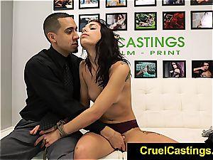 super-sexy Gina Valentina restrained and predominated
