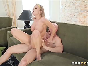 Britney Amber taking jism on her face