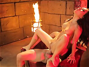 Asa Akira gets her scorching lips lush a ample lengthy spear