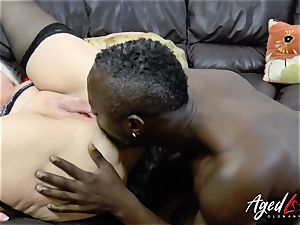 AgedLovE Lacey Starr interracial gonzo assfuck