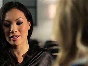 Asa Akira shows Samantha Saint a fresh pasttime