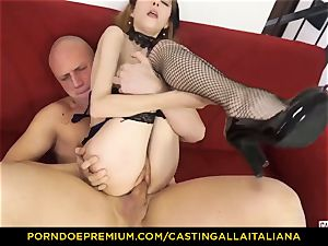 audition ALLA ITALIANA - lean honey takes jizz-shotgun like pro