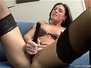 massager And big black cock For skinny wife