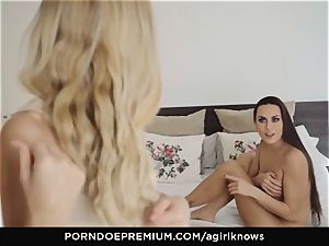 A dame KNOWS - Mea Melone in strenuous lesbian lovemaking