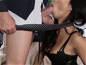 Takers pt 1 - Asa Akira booty rails senior mans phat pipe