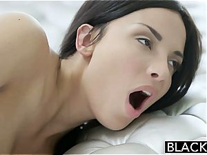 BLACKED French Anissa Kate super-steamy multiracial anal invasion fuck-fest