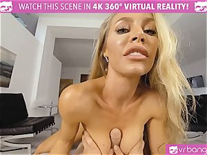 VR PORN-Nicole Aniston Gets poked rock-hard and bj's