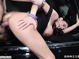 busty Ariella Ferrera - Drive on my boner