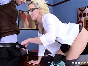 Dean Johnny Sins holds a fucky-fucky education lesson with a obscene student