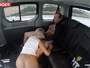 Czech client Vinna Reed gets boned in cab