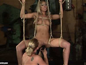 Kathia Nobili love tearing up the sizzling female with fake penis