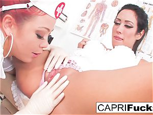 Capri Cavanni And Mia Lelani pulverize