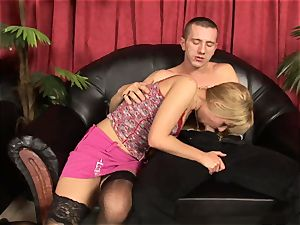 Victoria shine gives Tomi's weenie a shine