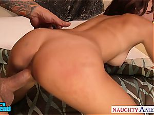awesome Ariana Marie is an all inborn lover