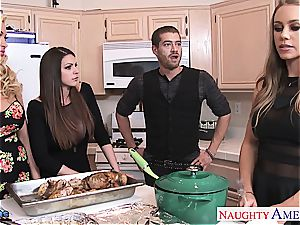 Brooklyn chase, Nicole Aniston and Summer Brielle fucks